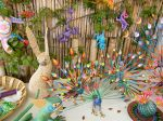 Whimsical animals full of color